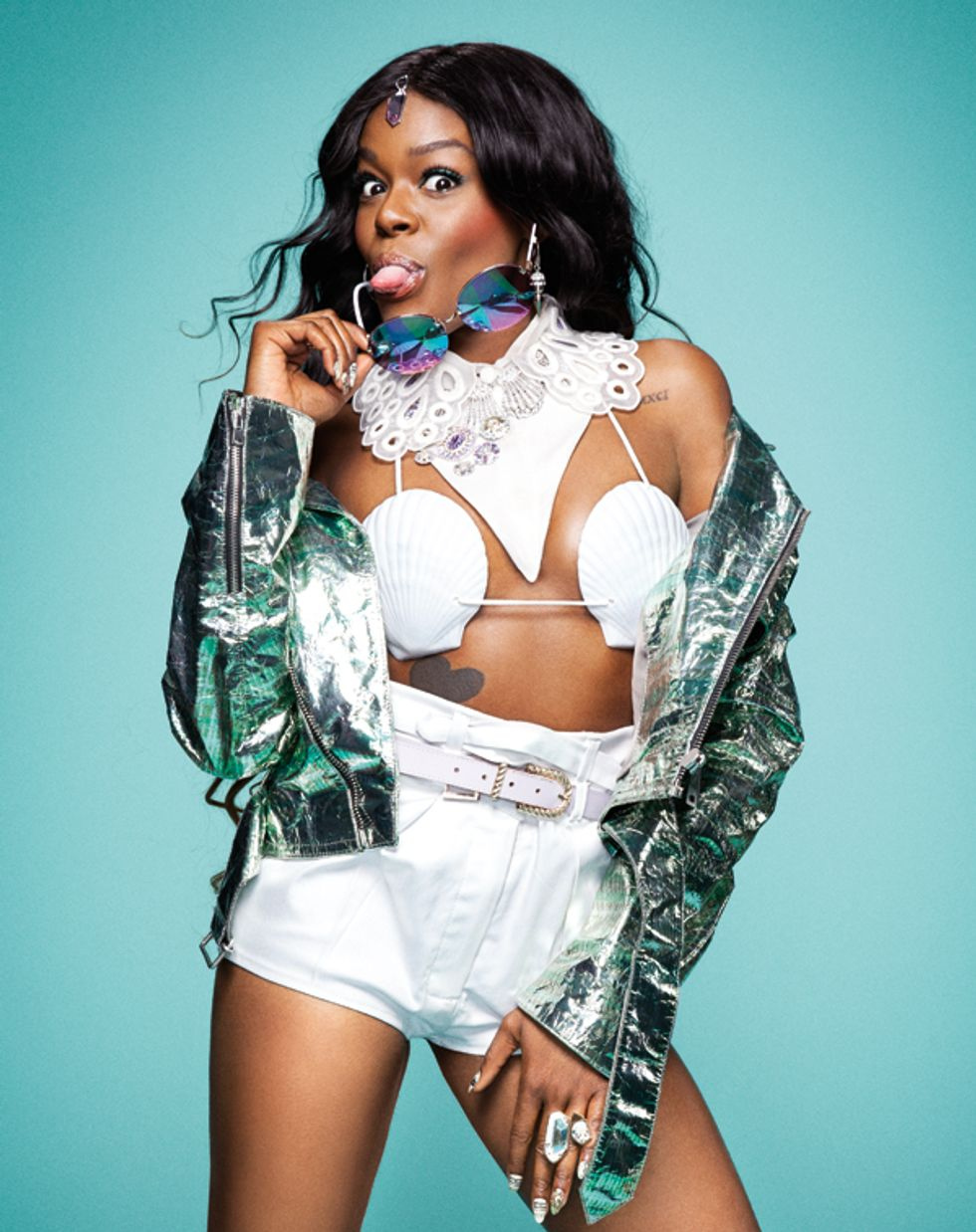"""Azealia Banks Says She """"Sort Of"""" Agrees With Donald Trump's Stance On Immigration"""