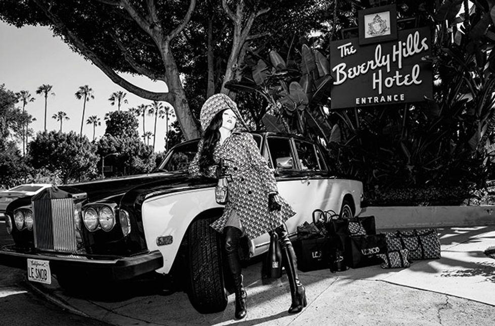 Fashion Designer B. Akerlund Is Such a Le Snob