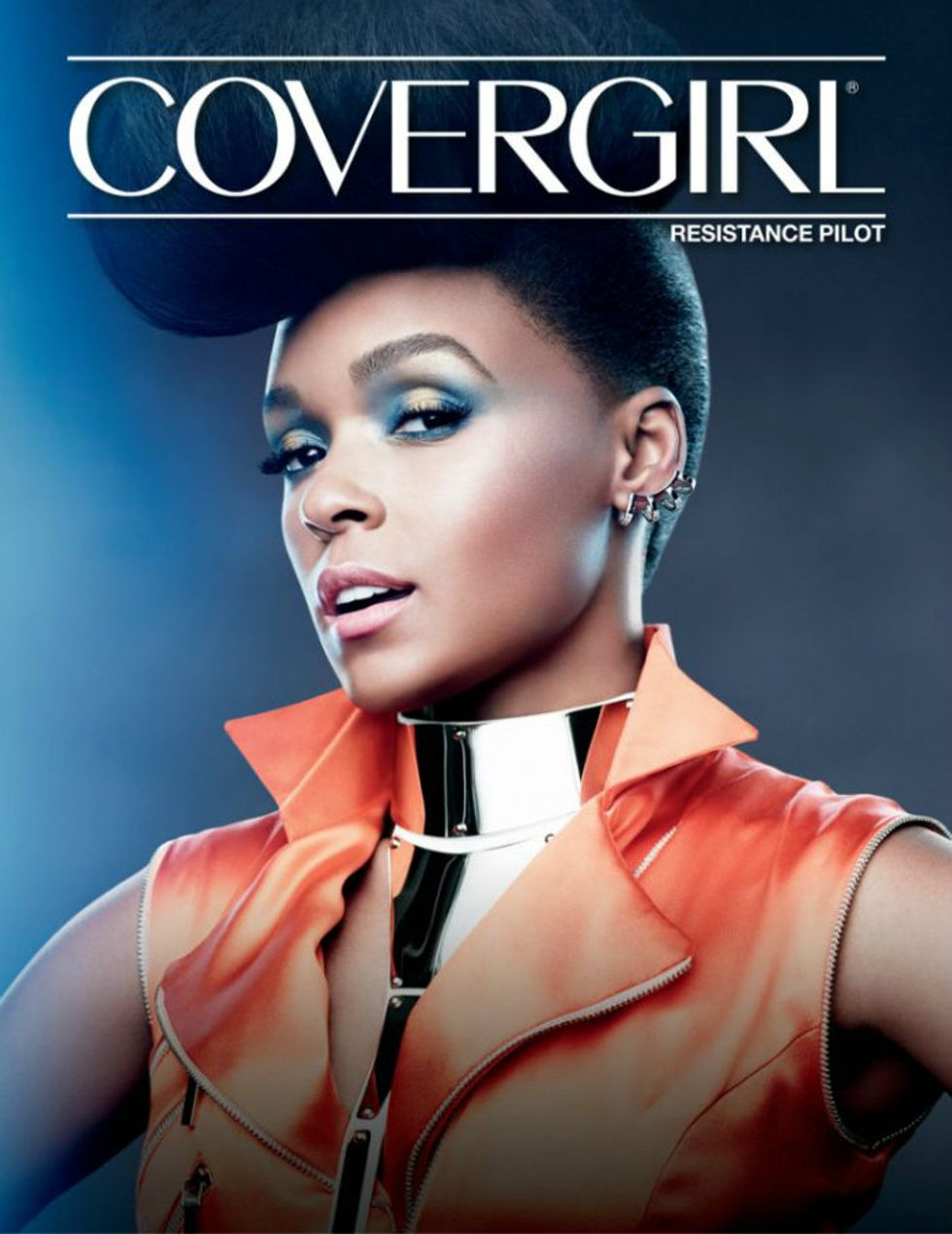 Janelle Monáe and CoverGirl Have a Star Wars Look