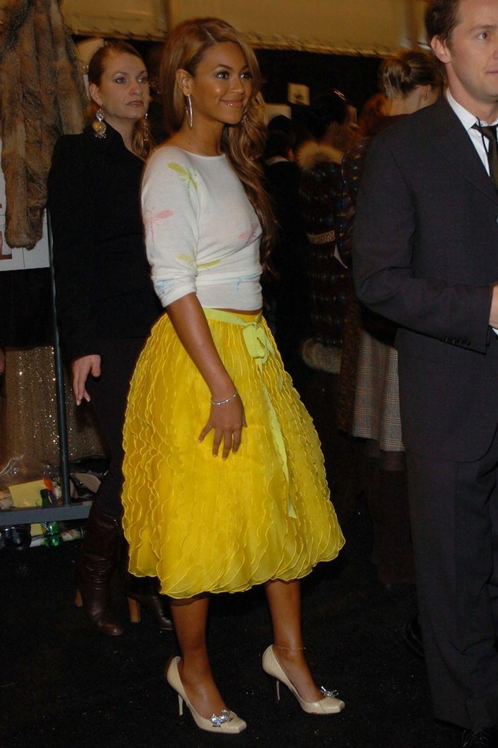 Beyoncé's New York Fashion Week Style Evolution