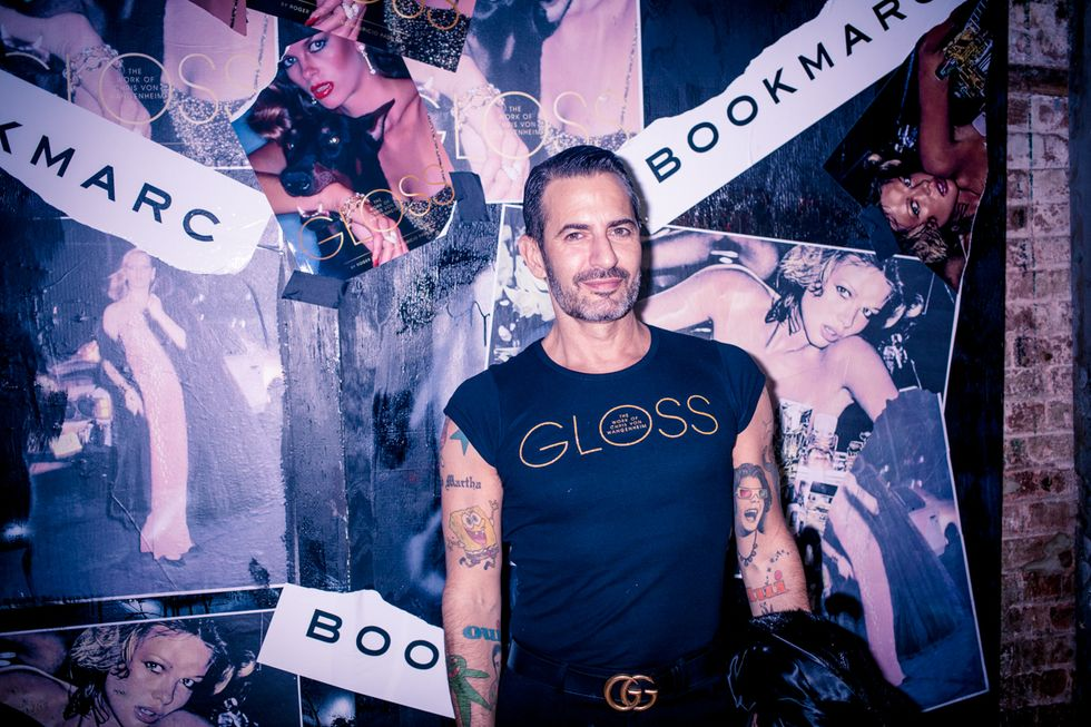 Dreamy, Disco-Drenched Photos from the Gloss Book Launch, Hosted by Marc Jacobs