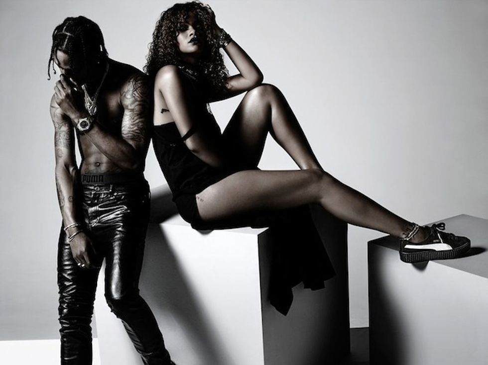 Rihanna Just Launched Her First Puma Collection With Grungy Creeper Hybrids