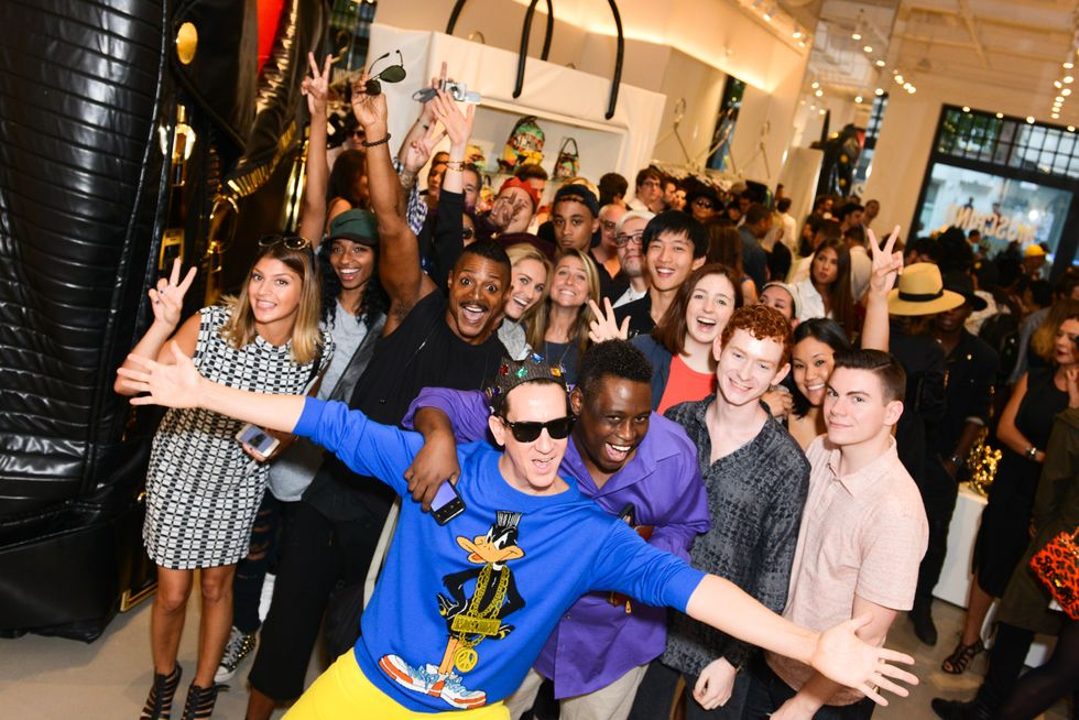 Photos from Paper and Tumblr's NYFW Party with Moschino's Jeremy Scott