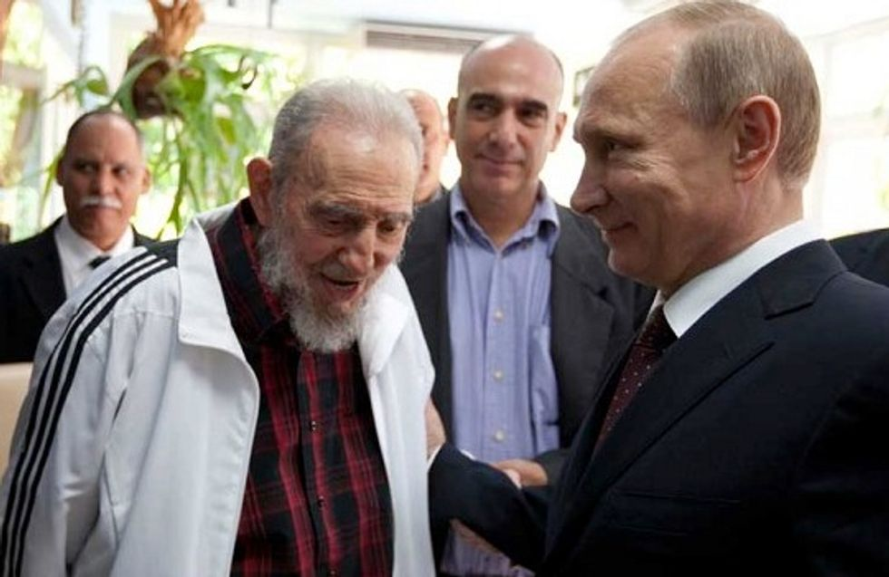 A Timeline Of Fidel Castro's Hypebeast Looks