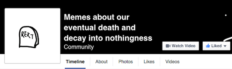 """Hit The """"Like"""" Button If You're Going To Die One Day"""