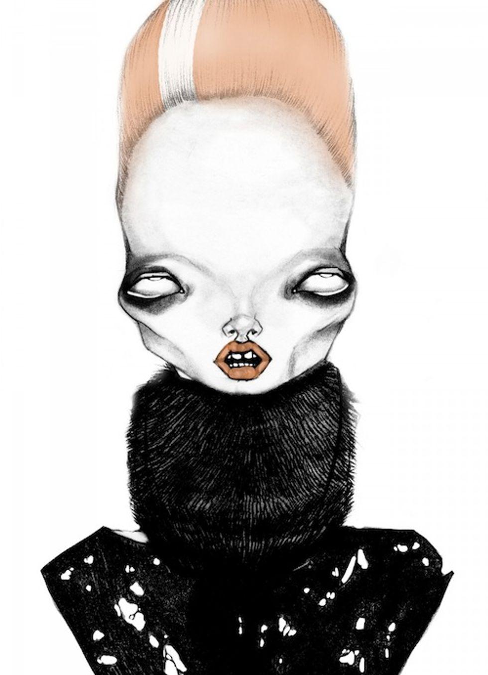 Five Unconventional Illustrators Exploring The Darker Side of Fashion