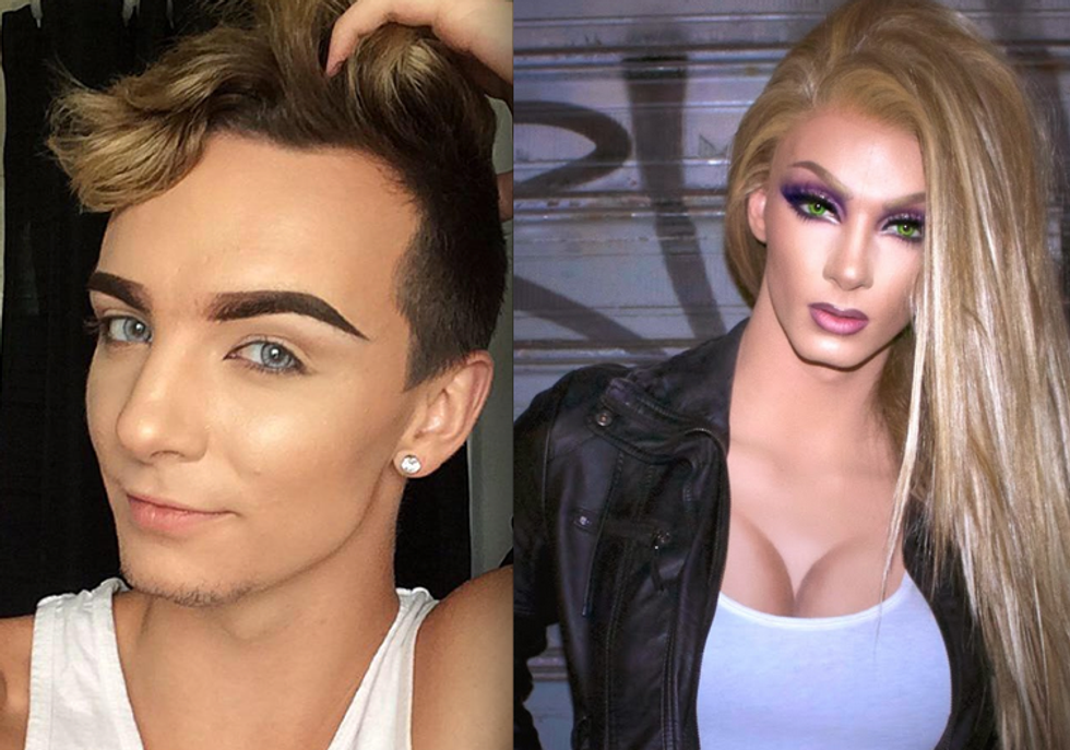 10 Drag Queens Who Are The Best Looking Men