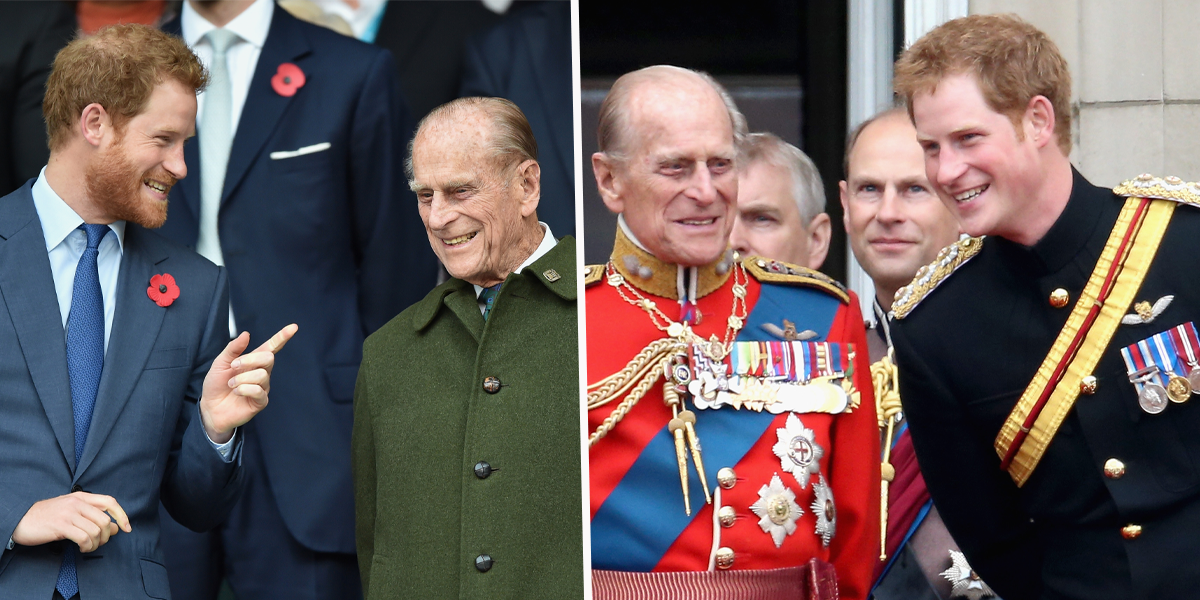 Prince Harry Shares Moving Tribute to 'Cheeky' Grandfather Prince Philip