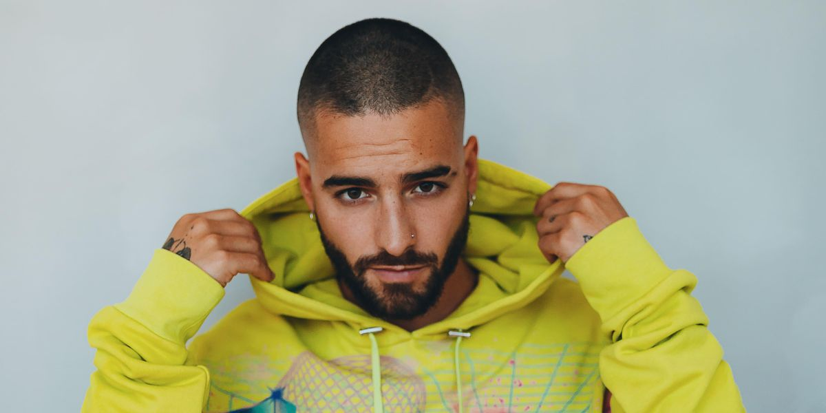Maluma's Balmain Collab Channels Vintage 'Miami Vice'