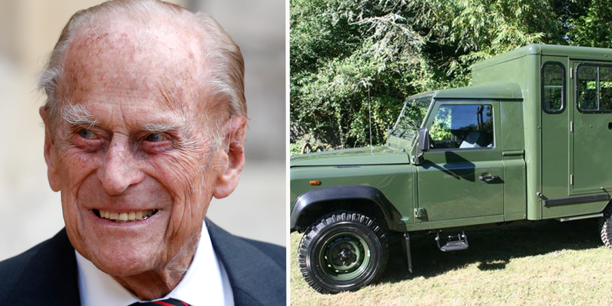 Prince Philip's Coffin to be Carried to Funeral in Special Car he Helped Design