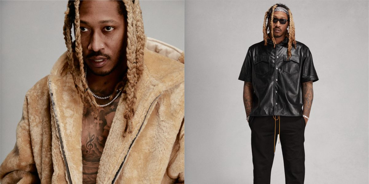 Future Scores His First-Ever Fashion Campaign