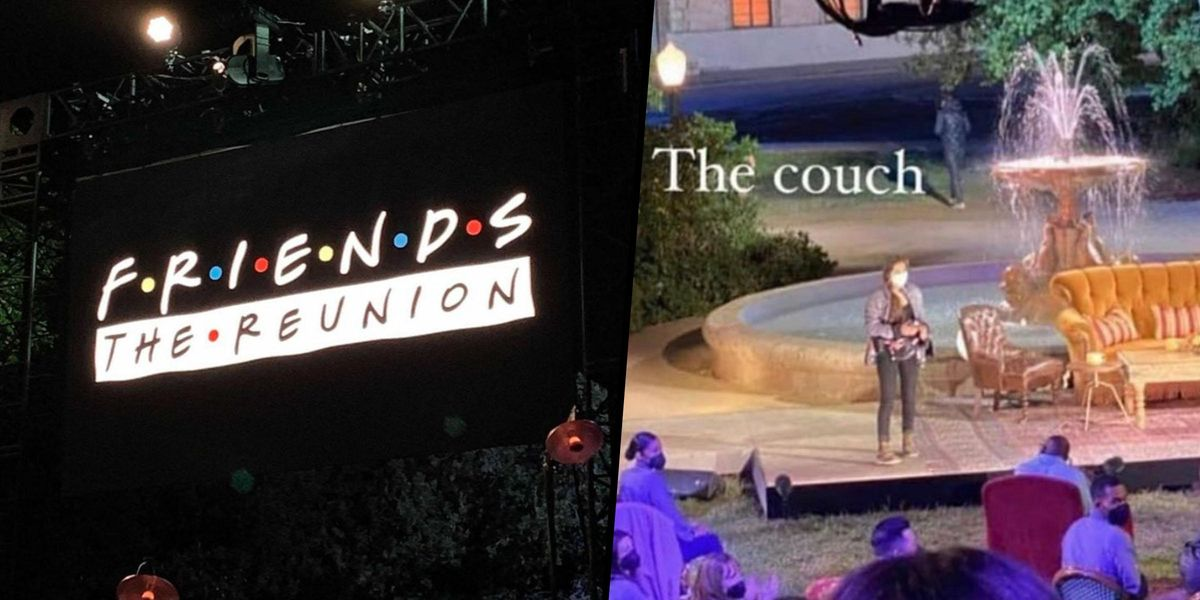 'Friends' Fans Get First Look At Upcoming Reunion