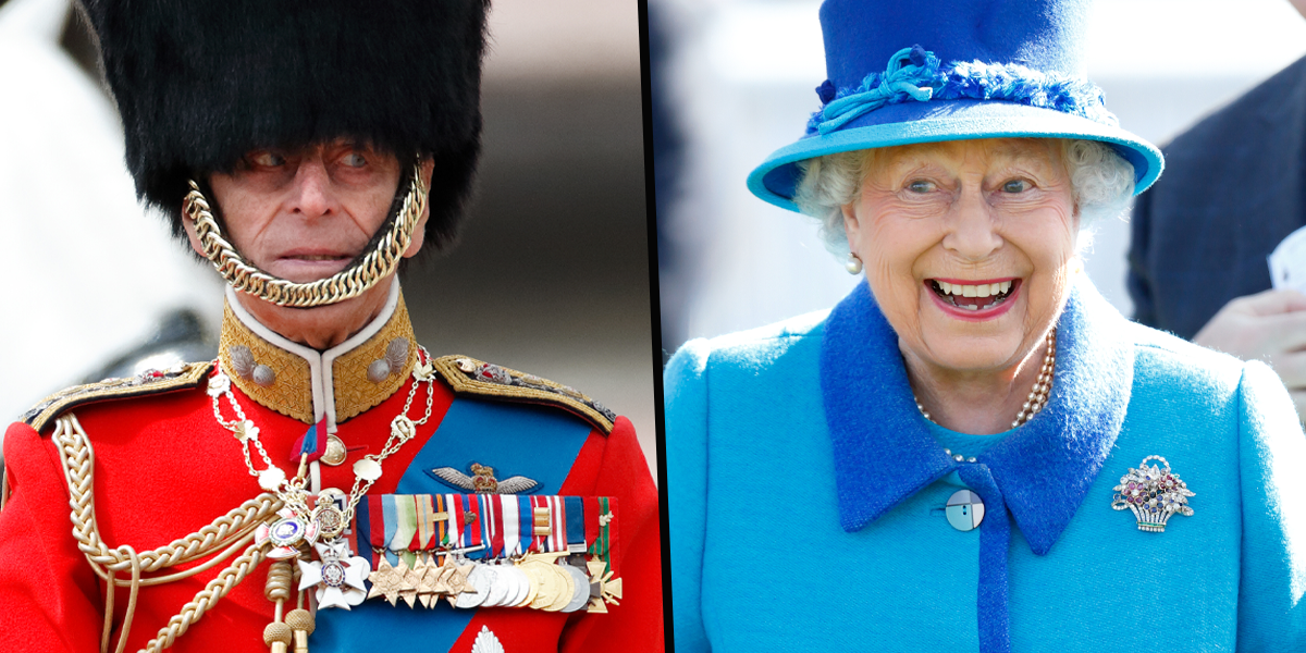 Photo of The Queen Giggling With Prince Philip Dressed in Full Uniform Goes Viral After His Death
