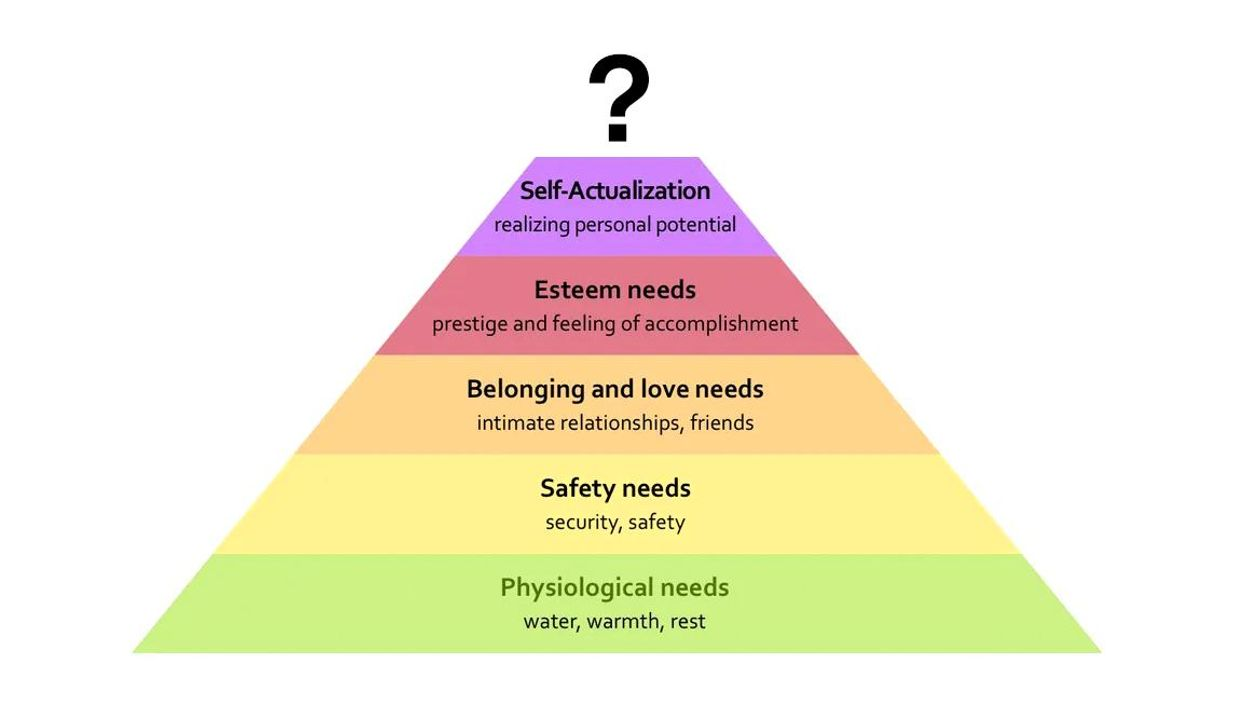 The Missing Apex of Maslow's Hierarchy Could Save Us All