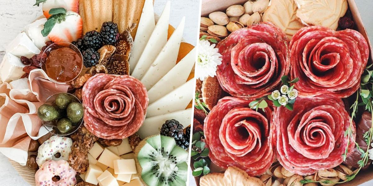 People Are Going Crazy Over Salami Roses for Charcuterie Boards