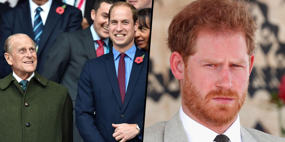 Prince William Accused Of Taking a Swipe at Harry in Tribute to Prince Philip