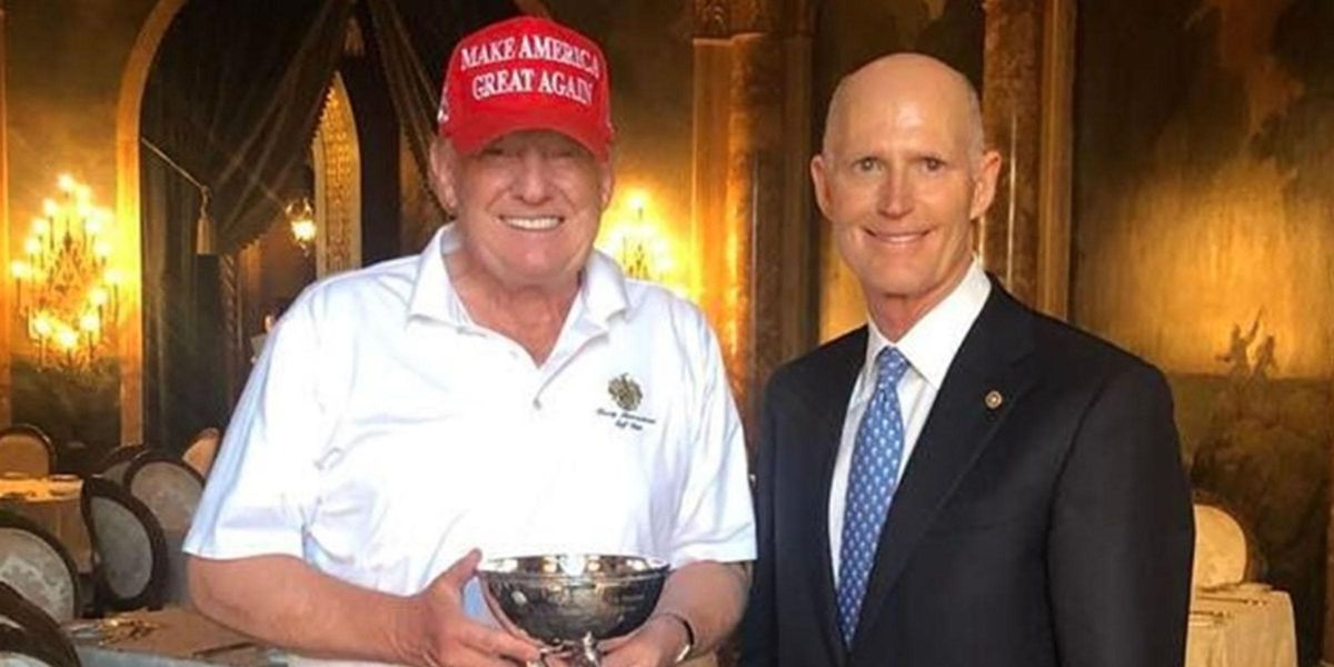 Republicans Ridiculed For Gifting Trump a 'Made up' Tiny Bowl Award