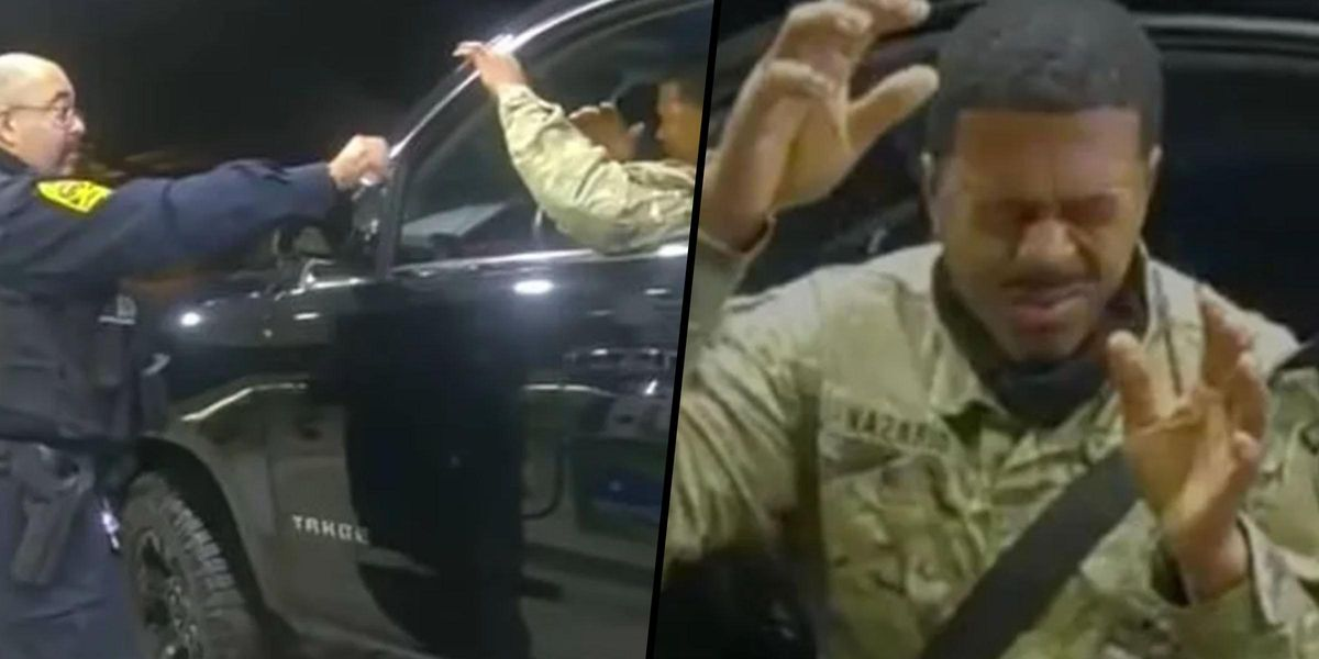 Black Army Lieutenant Suing Virginia Police Department After Being Pepper Sprayed and Held at Gun Point