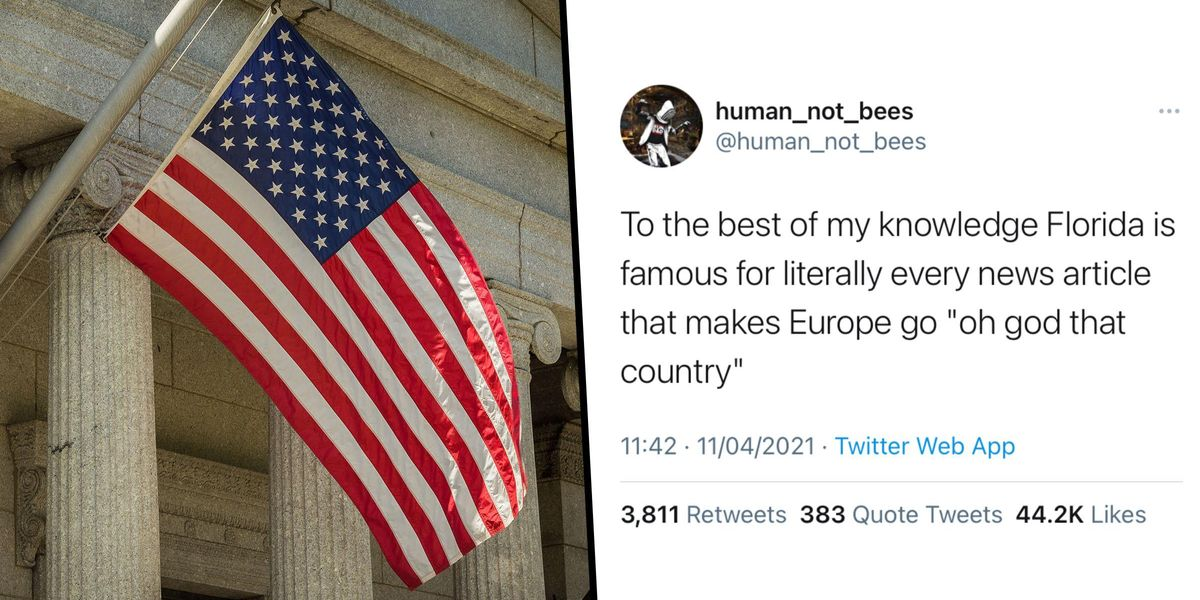 British Person Lists All 50 US States and What He Thinks They're Famous For