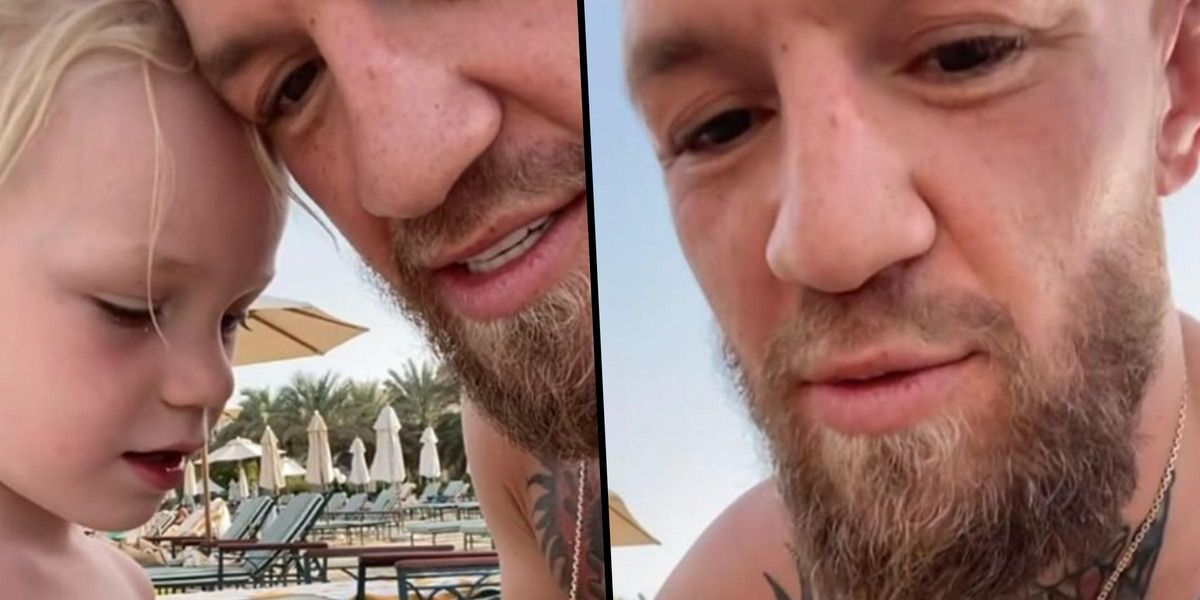 Conor McGregor Slammed After Encouraging Son to 'Hit' Another Child