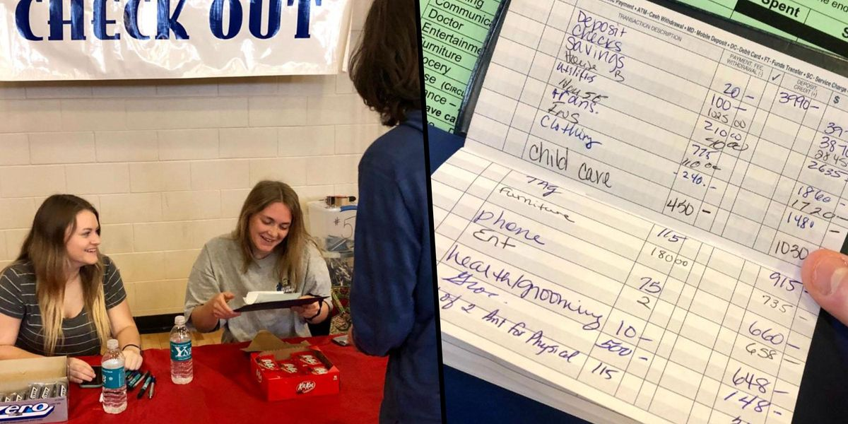 School Holds a 'Reality Check' Event To Teach Students What It's Really Like To Be an Adult