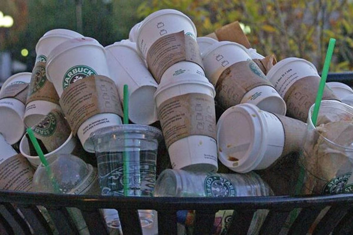 Starbucks has a dramatic new plan to ditch disposable coffee cups