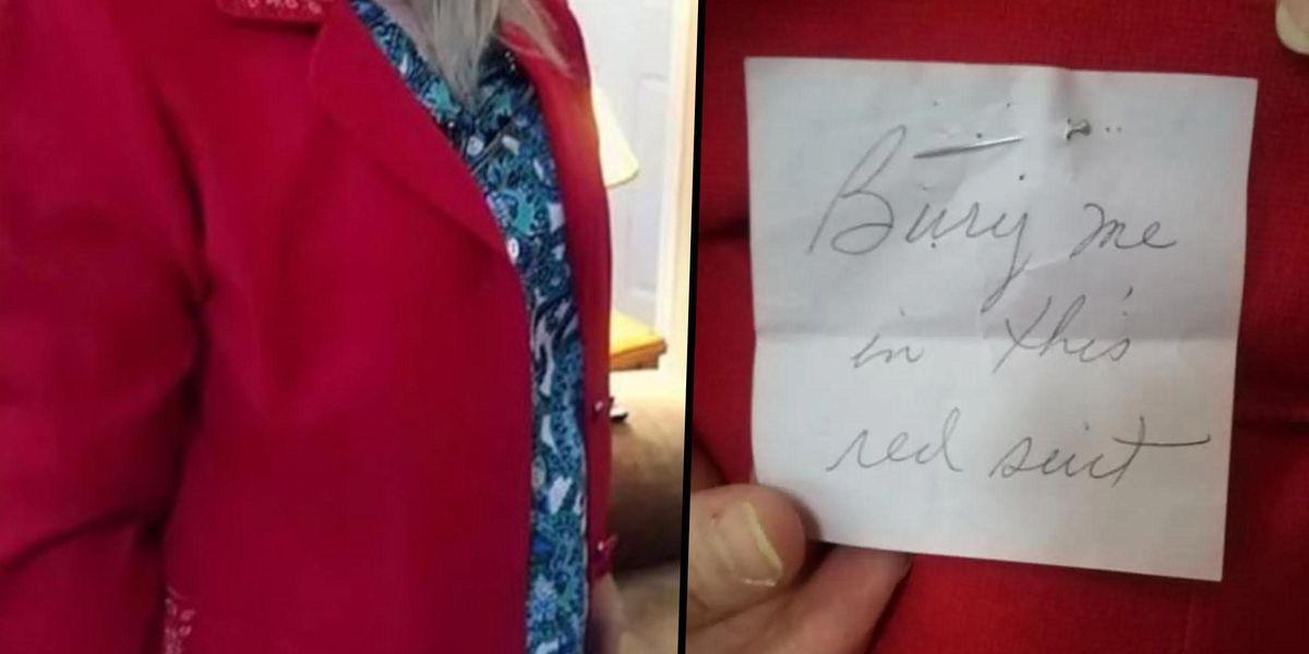 Woman Finds Previous Owner's Creepy Dying Wish Note in Thrift Store Jacket