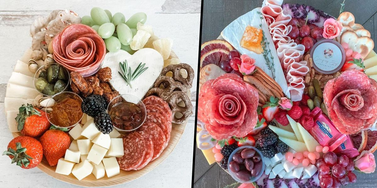 People Are Obsessed With Making Salami Roses for Charcuterie Boards