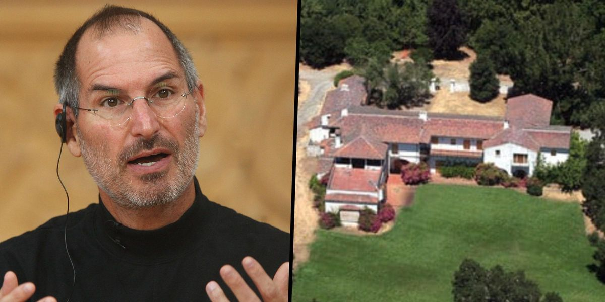Inside Steve Jobs' 'Unearthly' Abandoned Mansion He Spent Years Trying to Demolish