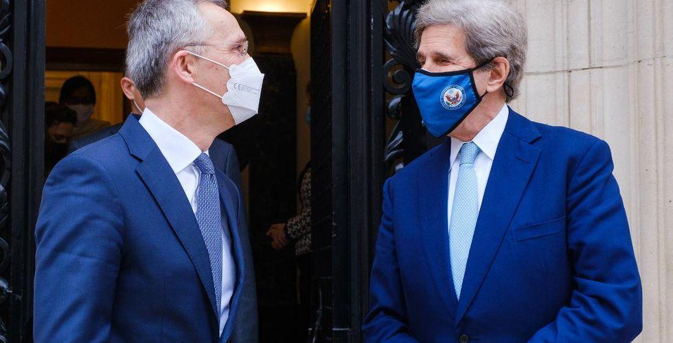 John Kerry climate change NATO
