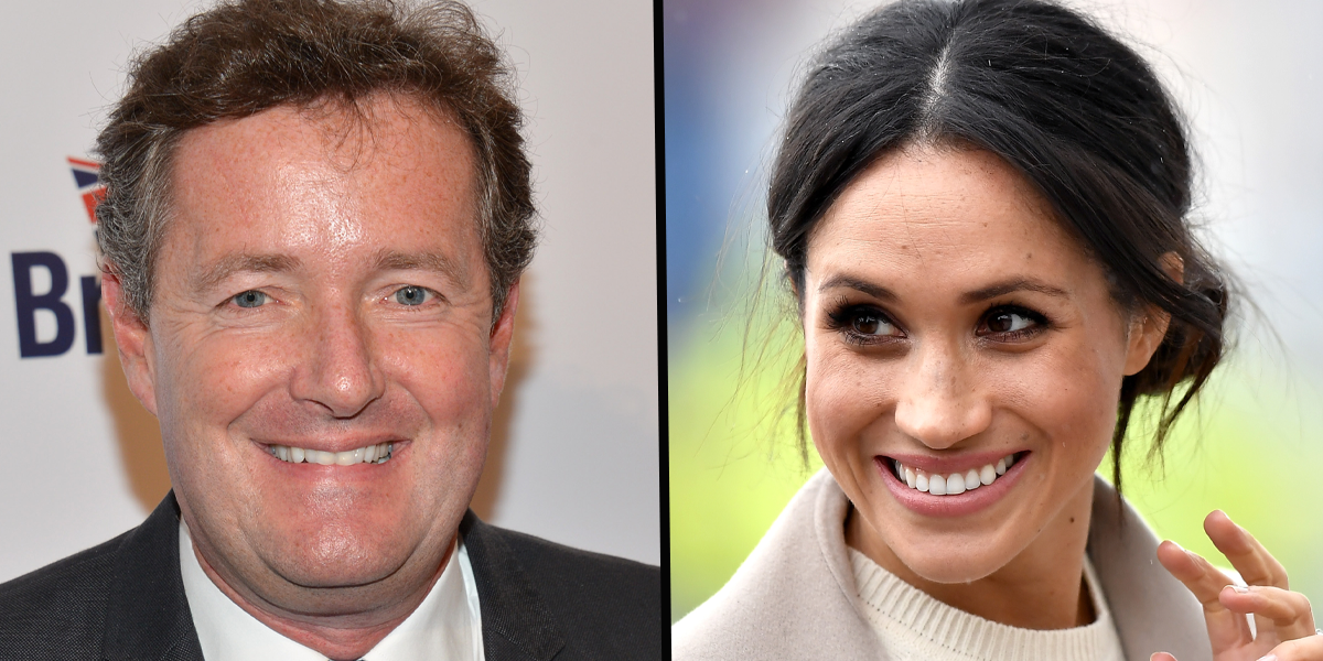 Piers Morgan Takes Swipe At Meghan Markle While Reflecting on Prince Philip's Death