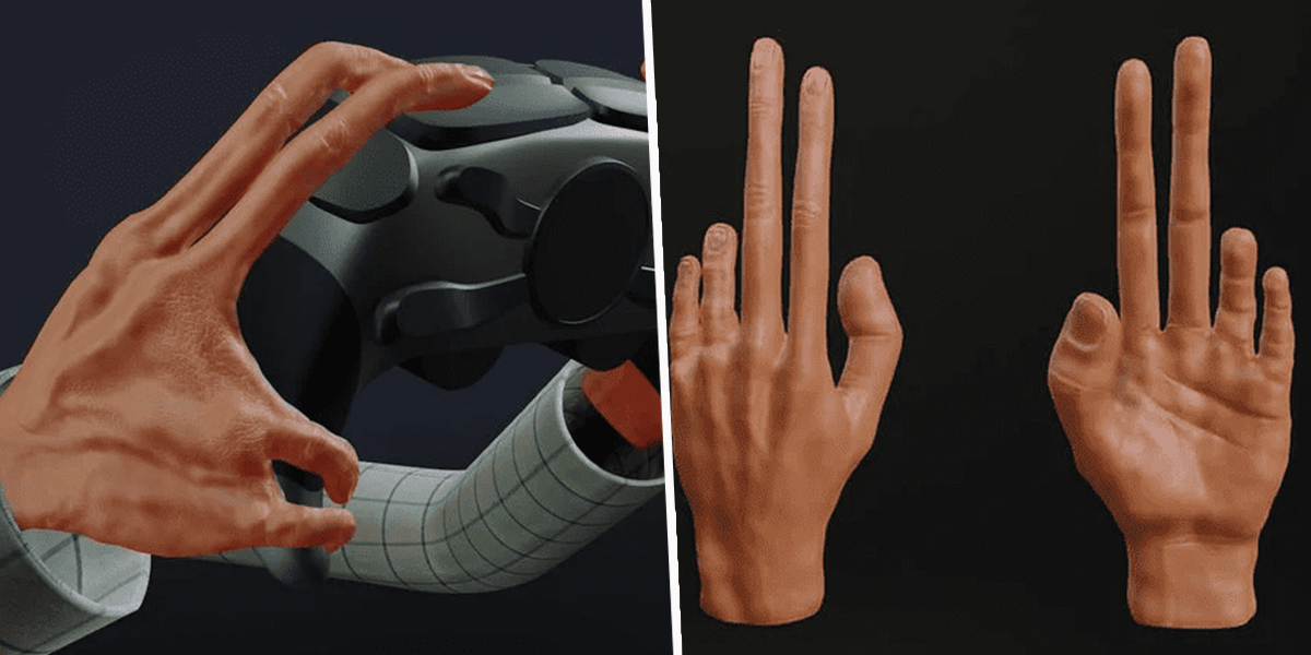 Experts Predict What Gamers' Hands Will Look Like in the Future