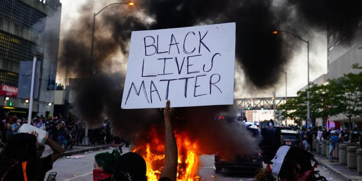 Black Lives Matter says criticism of co-founder who bought four houses is 'terror by white supremacists'
