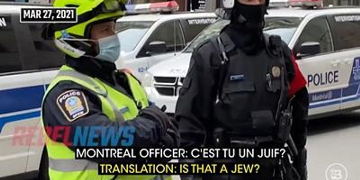 'THIS is your future if you don't protect your First Amendment': SHOCKING video shows Canadian police arresting reporters