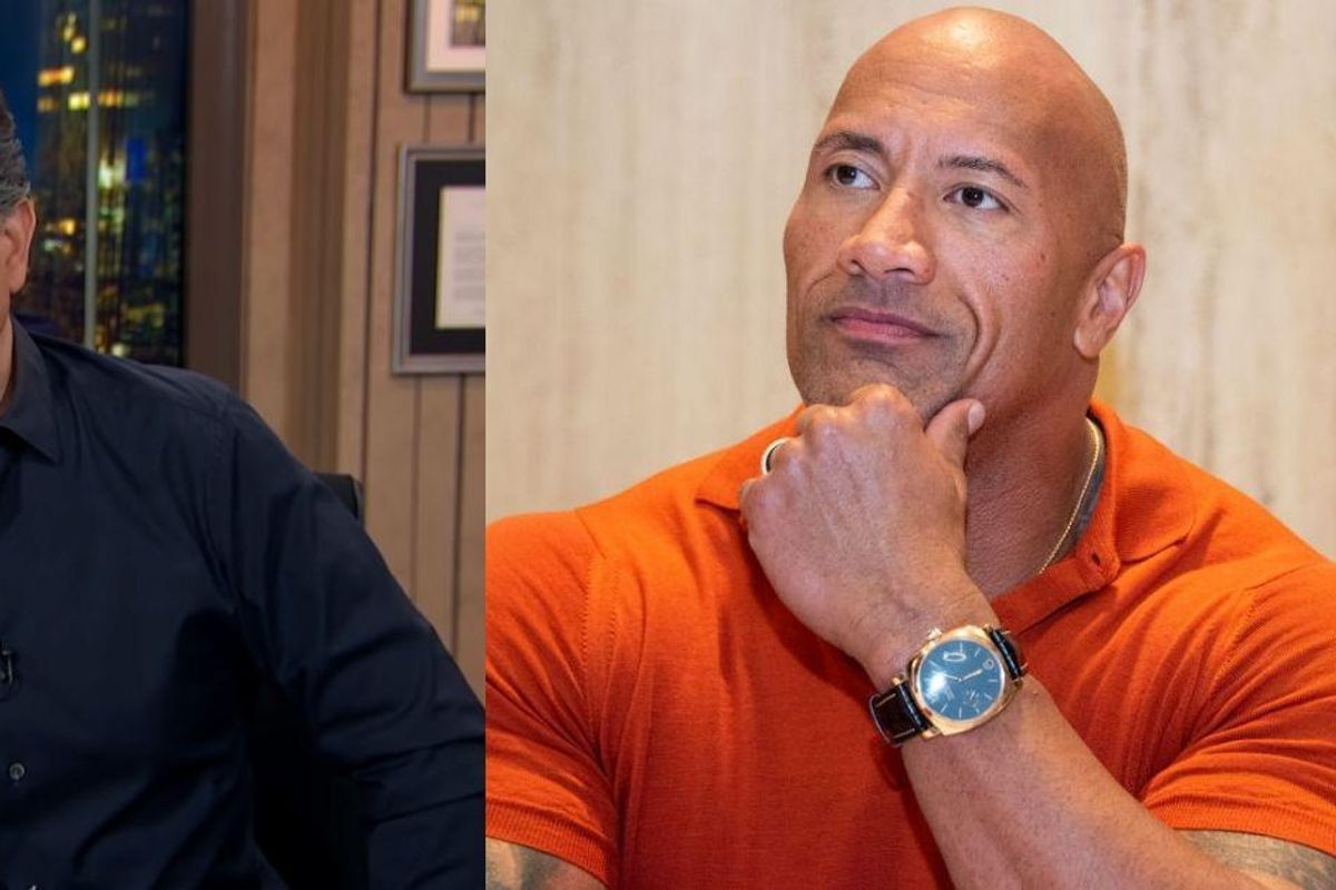 Stephen Colbert Is Begging Dwayne 'The Rock' Johnson Not To Run For President—And He's Got A Point