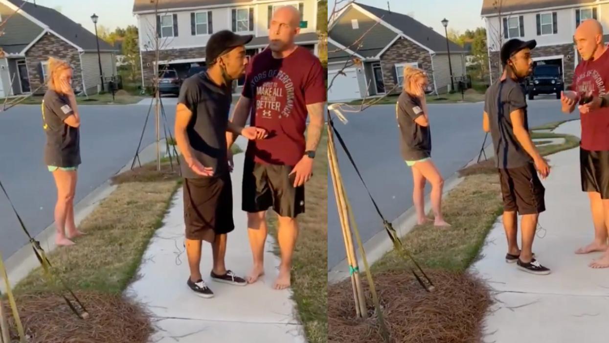 Army Sergeant Tells Black Man 'You're In The Wrong Neighborhood, Motherf**ker' In Tense Video