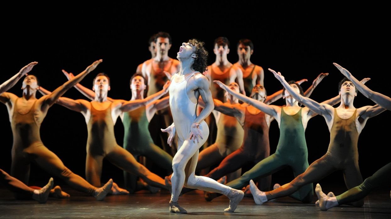 """Igor Stravinsky's """"The Rite of Spring"""" in the Bolshoi Theatre in Moscow."""