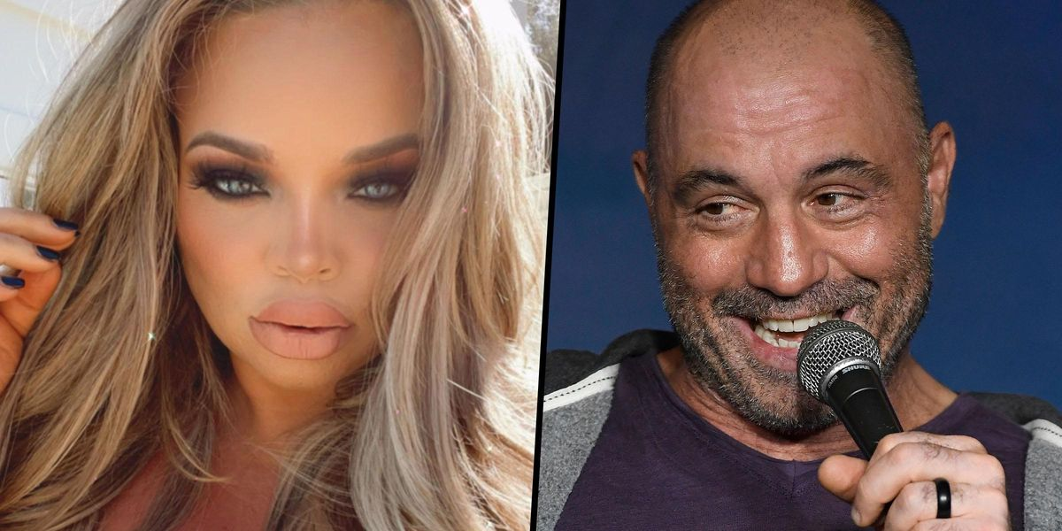 Trisha Paytas Rips Joe Rogan to Shreds After He Mocked Their Bikini Pic on His Podcast