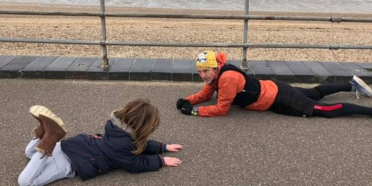 Mom Praises 'Hero' for Lying On the Floor To Calm Her Autistic Son