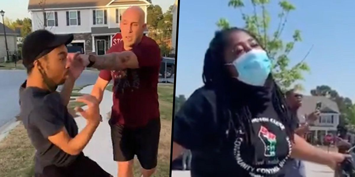 BLM Protesters Gather Outside Home of Army Sgt. Arrested for Assaulting Black Man