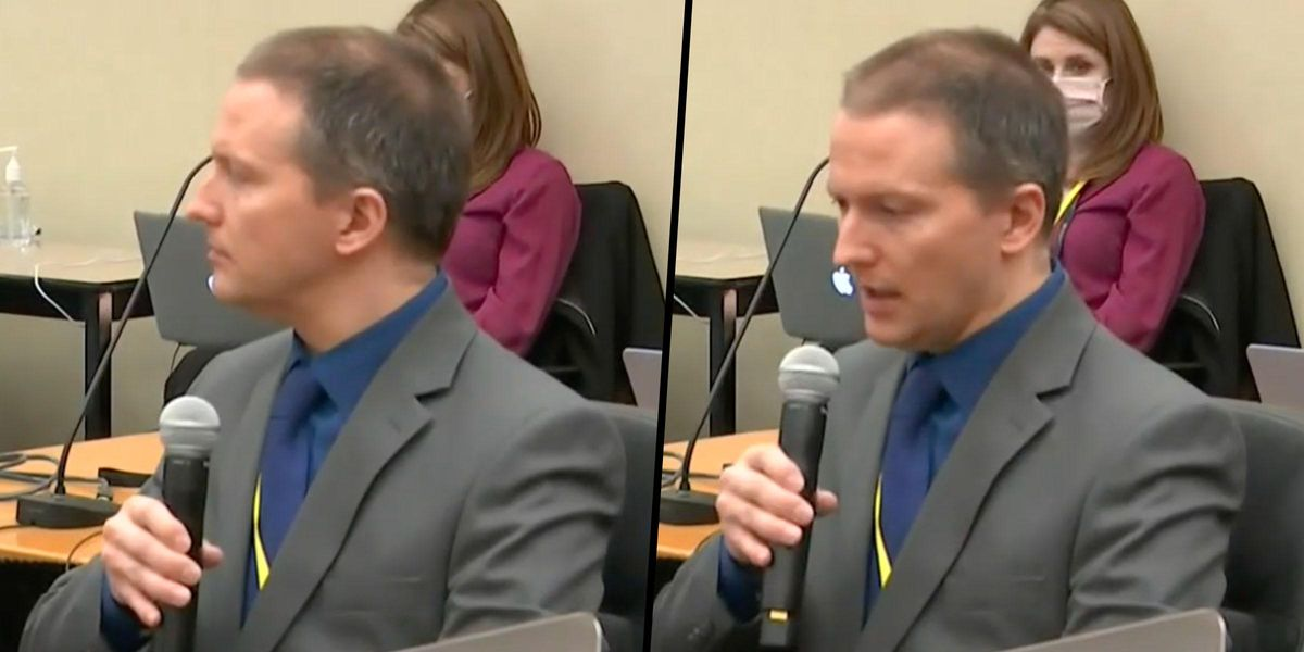 Derek Chauvin Speaks For the First Time During George Floyd Trial on the 14th Day