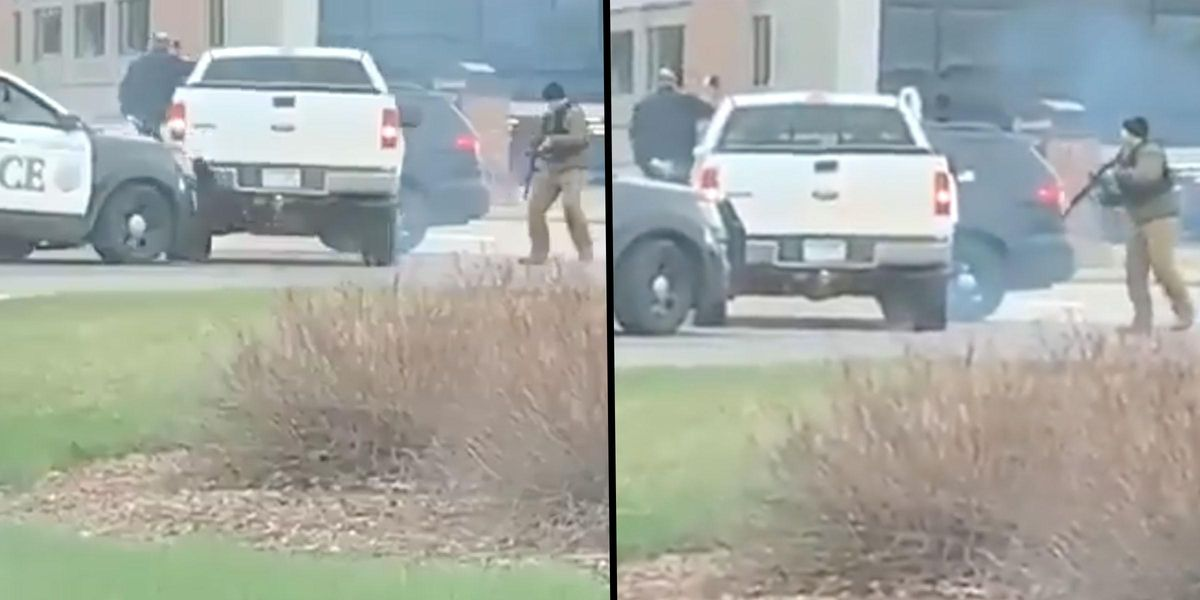 People Are Furious About the Way Police Handled the Arrest Of Man Who Hit Officer With a Hammer