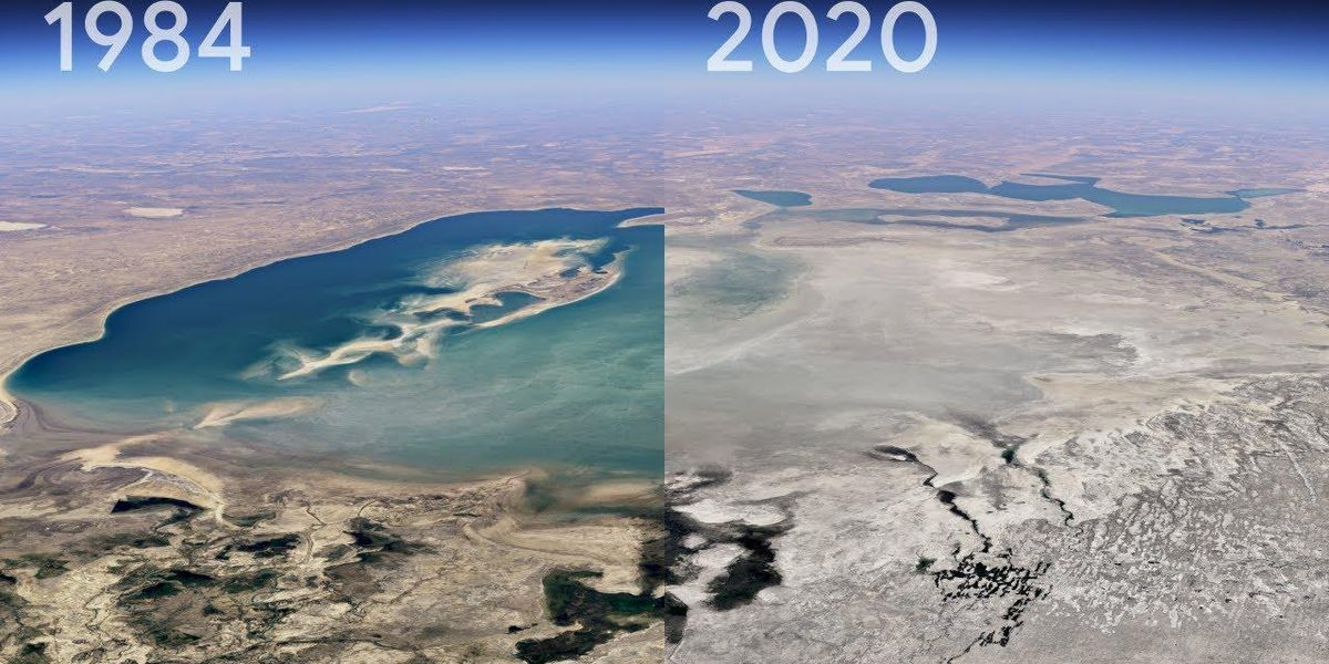 Google's New Timelapse Shows 37 Years of Climate Change Anywhere on Earth, Including Your Neighborhood