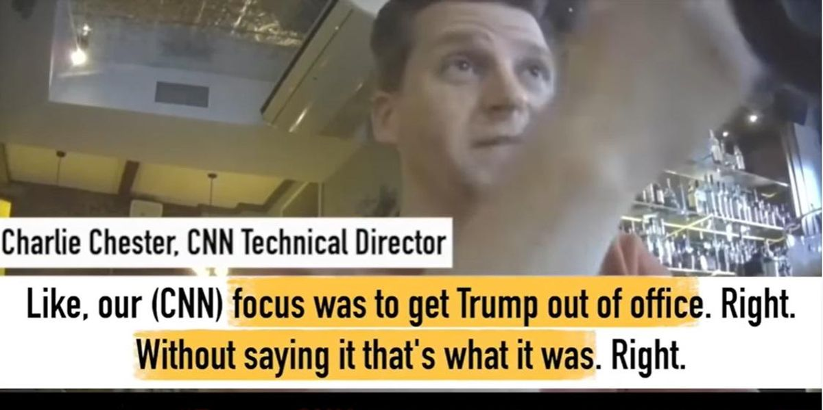 'Look what we did, we got Trump out': Undercover video allegedly shows staffer admitting CNN used 'propaganda' to oust Trump