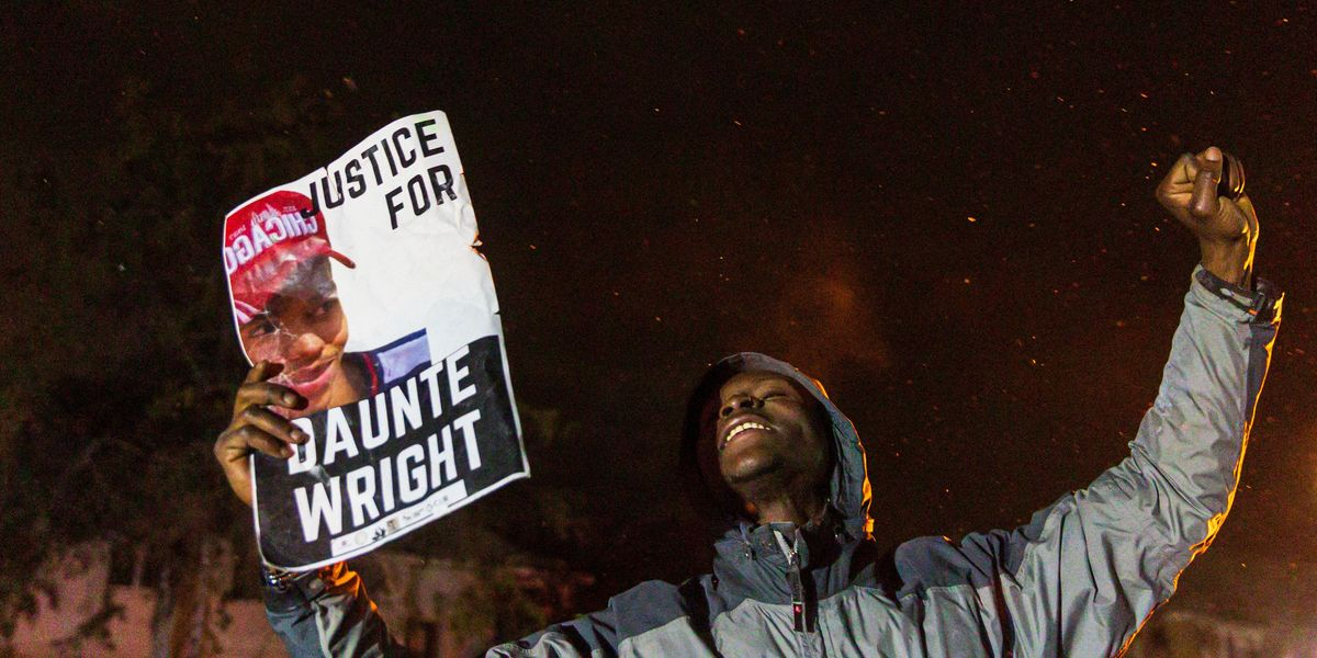 Cop Who Shot Daunte Wright Charged With Manslaughter