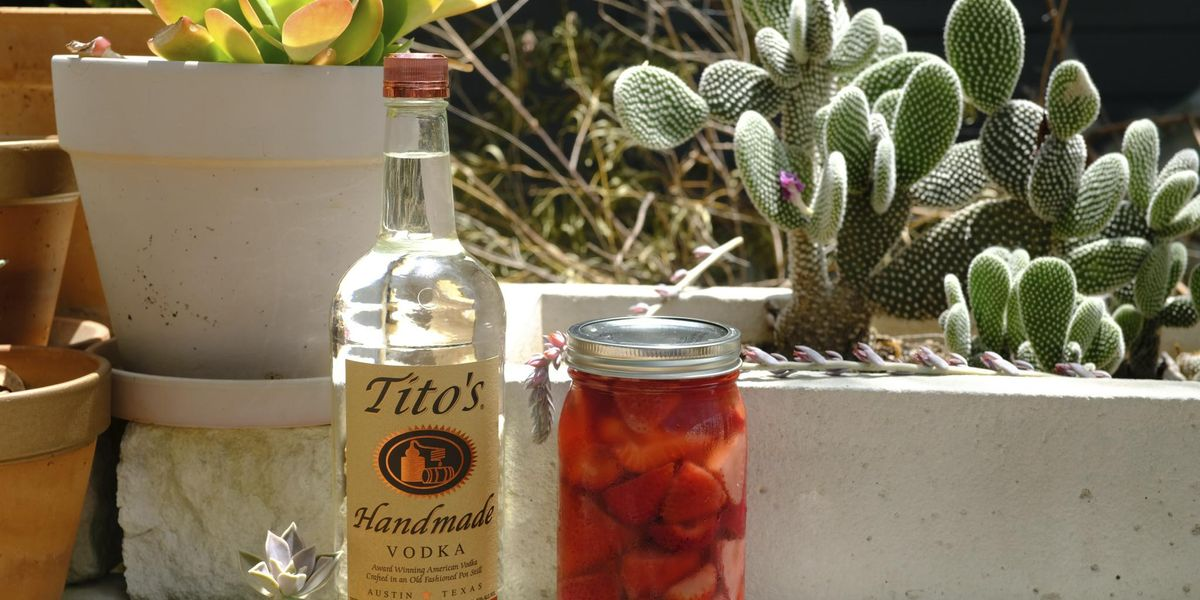 Drink of the week: Tito's Strawberry Infusion
