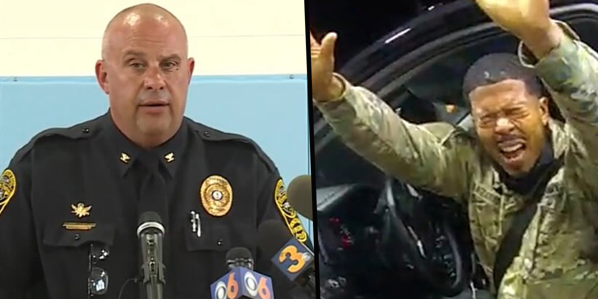 Virginia Police Chief Says They Don't Owe an Apology to Army Officer They Pepper-Sprayed