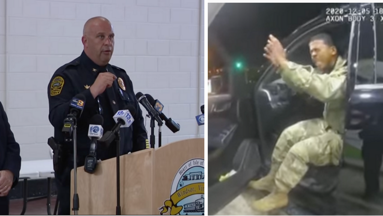 Police Chief Says No Apology Necessary For Afro-Latino Army Officer Who Was Pepper-Sprayed