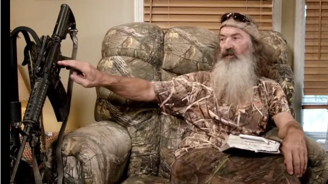 Phil Robertson: The anti-gun crowd is focusing on the WRONG weapon