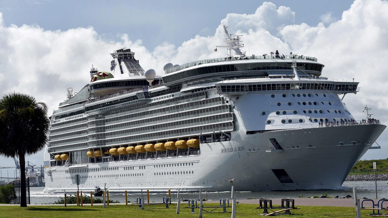 U.S. Embassy warns people fleeing an active volcano about the COVID dangers associated with cruise ships